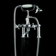 Externer Mischer Wannen Badewanne mit Duschgarnitur Victoria