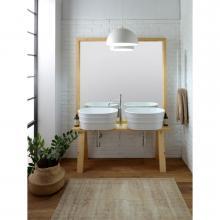 Holzmöbel für Waschbecken Tinozza cm 121x193 Tela