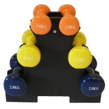 Gewichtsträger mit Vinylgewichten