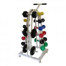Stahl Gewichtsträger mit Rädern