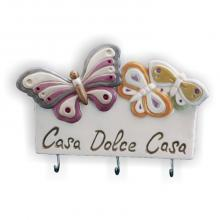Hanger Casa dolce casa Schmetterlinge