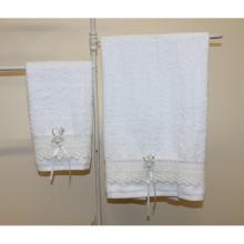 Satz zwei Handtücher
