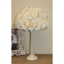 Lampe mit Rosen