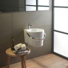 Wand-hing/aufsatz waschbecken cm 40 Bucket