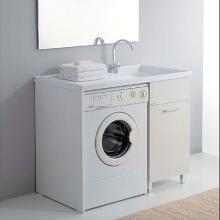 Waschmaschinenschrank mit Spüle 106x60 Medusa