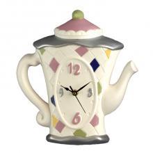 Clock Teapot Hoch