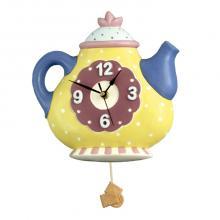Pendeluhr Teapot Runde