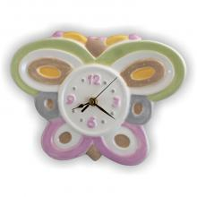 Clock Schmetterling 28 x 22