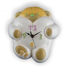 Clock Bär 22x24 cm