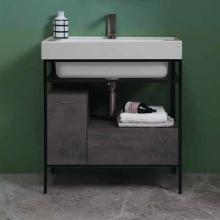 Waschbeckenschrank mit Schublade und Tür 70x50xH76 Quadrello