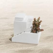 Vase Haus in der Wüste