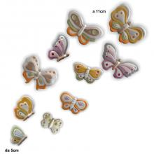 Schmetterlinge 10 Stück
