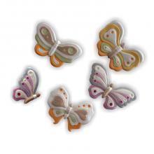 Schmetterlinge 5 Stück