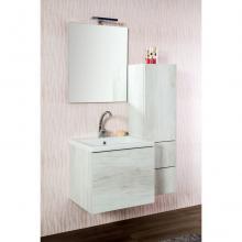 Wandgehängte Badezimmer-Zusammensetzung cm 95 Unika