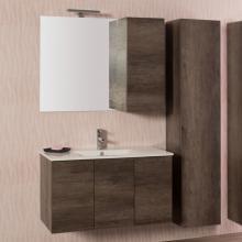 Wandgehängte Badezimmer-Zusammensetzung Unika cm 135