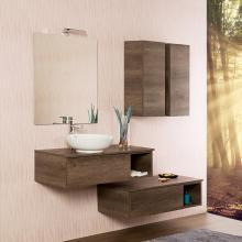 Wandgehängte Badezimmer-Zusammensetzung cm 160 Unika