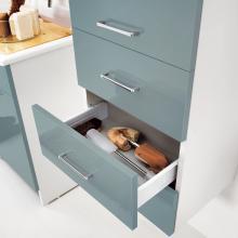 Wäschesäule mit rechter Tür und Schubladen Brava
