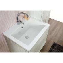 Einbau-Waschtisch cm 60x49xH2 Sabbia
