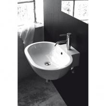 Waschbecken Arbeitsplatte / Wand-hing Kleo