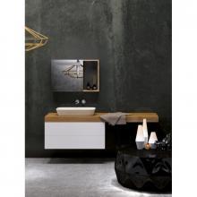 Wandschrank mit Waschbecken und Schublade cm 170 Stiva