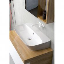 Aufsatzbecken/wandhängend waschbecken cm 90 Prua