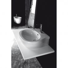 Aufsatz- / Wand-Waschbecken 1 Loch X.One