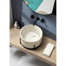 Waschbecken mit Struktur Ibrido Runde Franciacorta