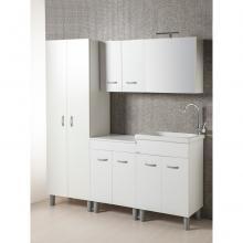 Wäschemöbel komplett mit Basen, Schrankwänden und Säulen