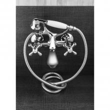 Externe Badewanne-Mischbatterie mit Duschset Croce