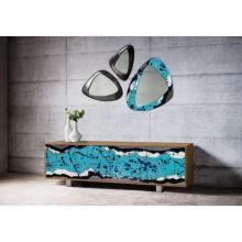 Design Aufbewahrungsmöbel aus Holz und Lavastein Life Oceanside