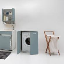 Waschmaschine Schrank
