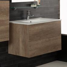 Wandschrank für Waschbecken cm 80x45.5xH50 Unika