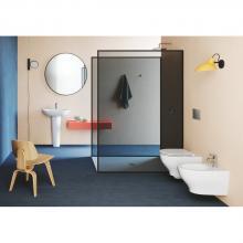 Wand-hing wc Easy Clean cm 52,5x35xh37,5  Pratica