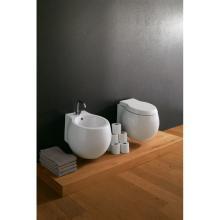 Wand-hing wc und bidet Planet