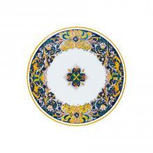 Runde Lavastein-Tischplatte Grandi Maioliche