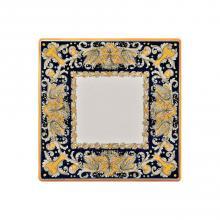 Quadratische Lavasteinplatte Draghi Verdi