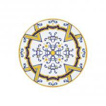 Runde Lavastein-Tischplatte Monaco Blu