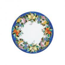 Runde Lavastein-Tischplatte Frutta Rosy