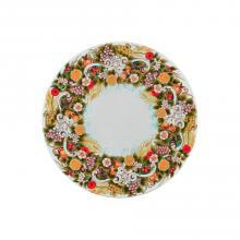 Runde Lavastein-Tischplatte Giardino