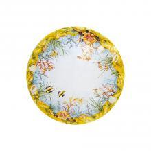 Runde Lavastein-Tischplatte Oceano