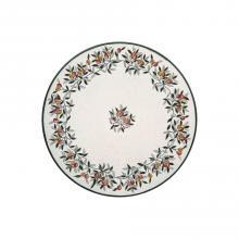 Runde Lavastein-Tischplatte Olive