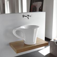 Waschbecken Cup cm 70x50xH42.5 Aufsatz