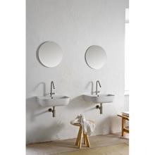 Wand-hing/aufsatz waschbecken Glam