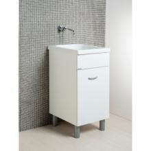 Wäscheschrank Oceano 45x51 mit Keramikspüle
