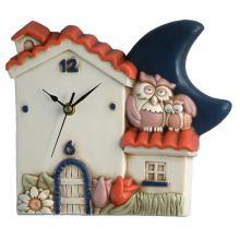 Clock Haus und Eulen