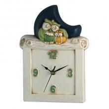 Clock Eulen-und Mond