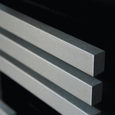 Edelstahl-Badheizkörper L500 mm Alias
