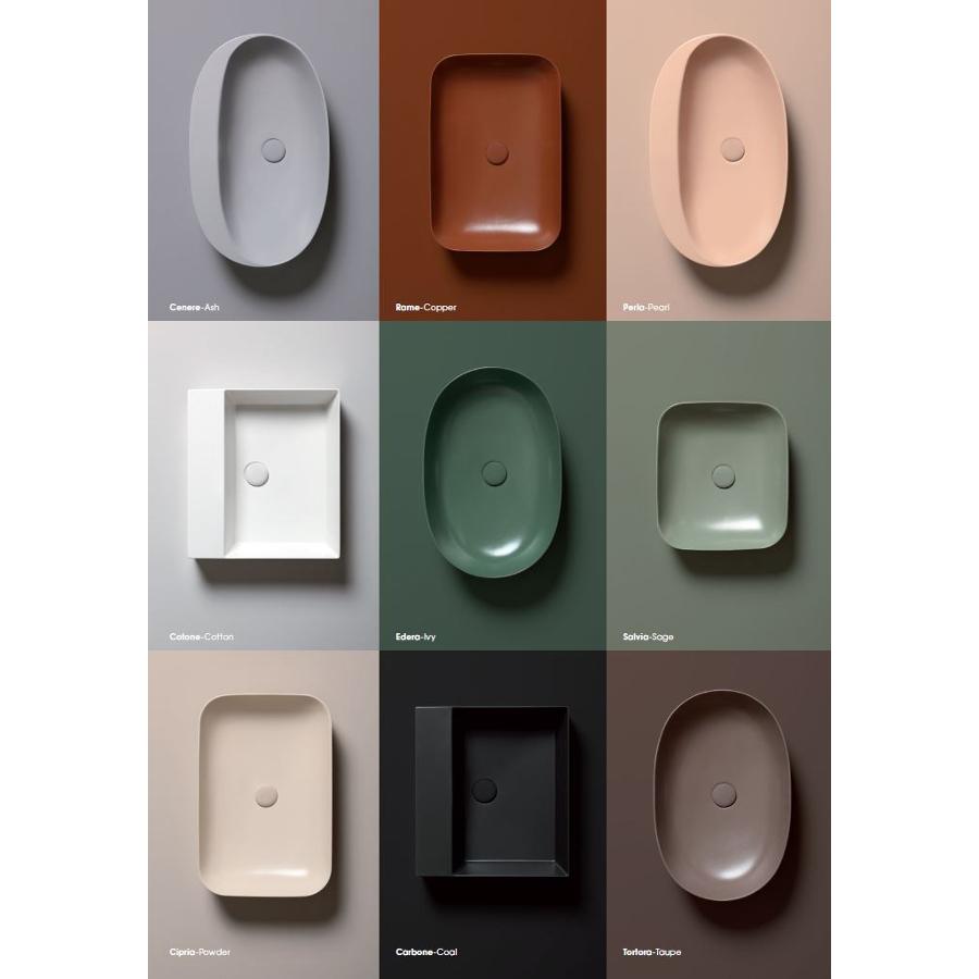 Einbausatz/Arbeitsplatte Waschbecken cm 75 Soft Elegance