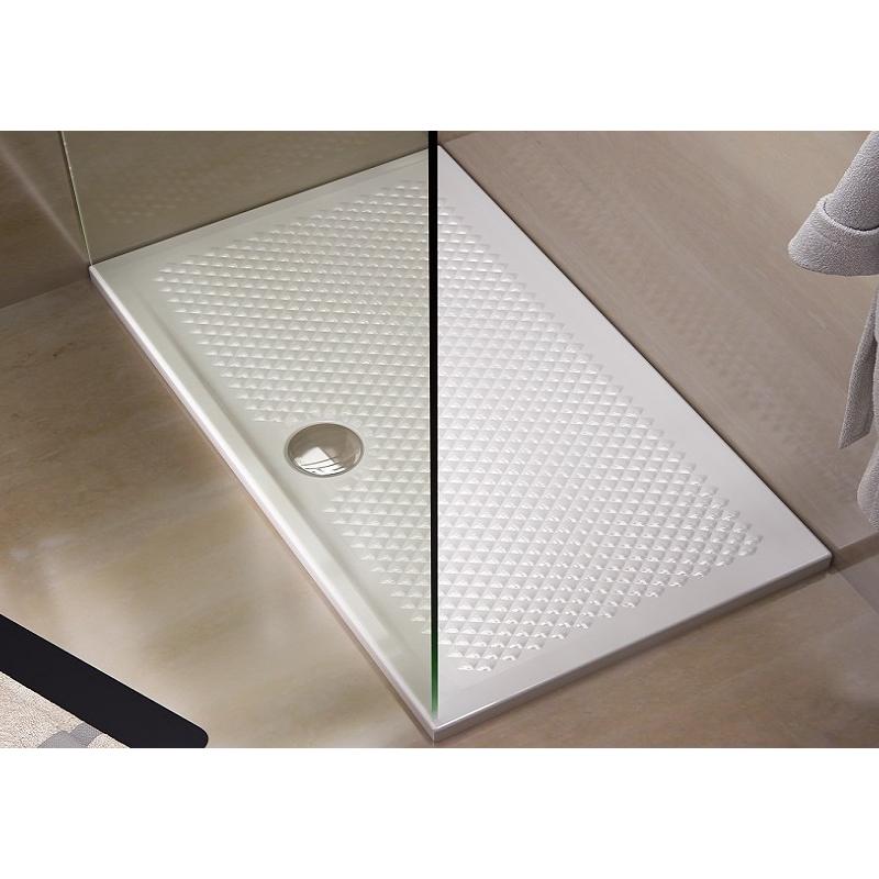 Rechteckig Duschwannen Texture 70x100xH5