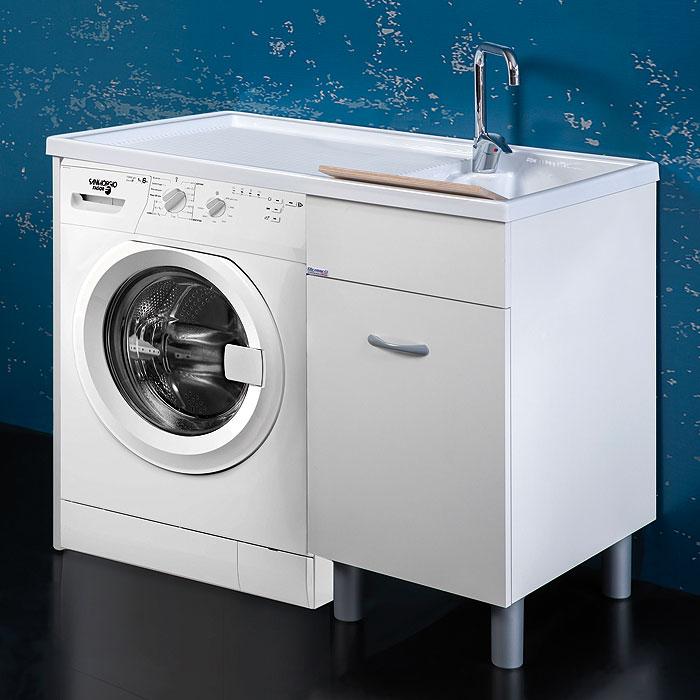 Waschmaschinenschrank 106x60xH90 Sirena